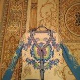 Шикарная кофта,натуральная шерсть Италия M