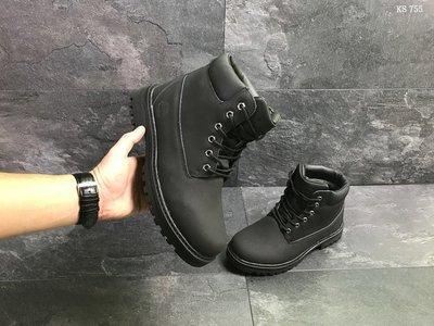 e77b4dde6031 Ботинки на меху мужские кроссовки Timberland черные Зима,  1045 грн ...