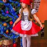 Платье костюм Красная шапочка