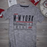 F&F 6-7л Удлиненная футболка с молниями