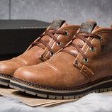 Зимние ботинки на меху Clarks Urban Tribe, рыжий