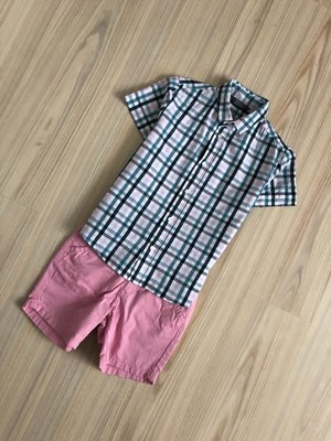 Стильная классика, рубашка, шведка Primark на 5-6 лет