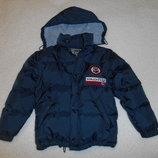 Куртка пуховик Yado 2 в 1 куртка-жилет , детская, зимняя, р. 140 8 лет