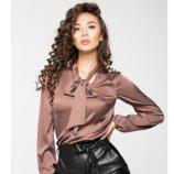 Блузка шелковая женская, цвета разные.