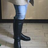 Длинные шикарные женские сапоги до колена, кожа натуральная с 36-41р