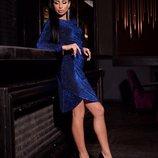 Платье люрекс разные цвета 42,44,46 размеры