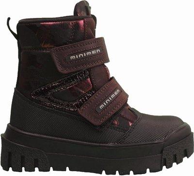 Зимние ботинки для мальчика фирмы Минимен. Новая коллекция.