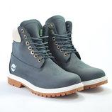 Женские ботинки Timberland кожаные Тимберленд
