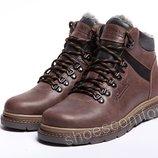 Кожаные зимние ботинки Columbia Brown Boots
