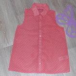 Красивая шифоновая блуза фирмы YD 9-11л в идеале