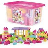 Конструктор в контейнере 132 деталей Blocks Wader 41280 Вадер для девочки розовый