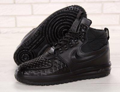 c5340821 Зимние мужские кроссовки Nike Lunar Force 1 Duckboot 17 Black: 1430 ...