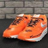 Оранжевые мужские кроссовки nike just do it 41 42 43 44 рр