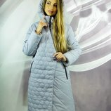 Оригинальное зимнее пальто Блуа, батал, Размеры 50,52,54,56,58,60.