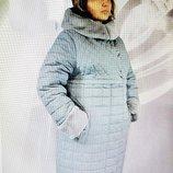 Зимнее пальто Саба, батал, Размеры 56,58.