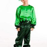Детский карнавальный костюм для мальчика Огурец 110-140р