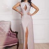 Шик платье с разрезиком, Размеры 42-44 ,44-46