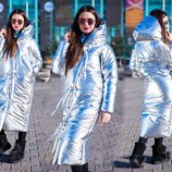 Пальто зима Блеск, Размер 42-44,46-48,50-52,54-56