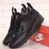 Мужские зимние кроссовки Nike Air Max 90 Mid Winter Black