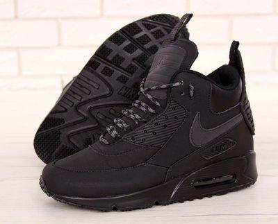 653e4712 Мужские зимние кроссовки ботинки Nike Air Max 90 Sneakerboot Winter Black