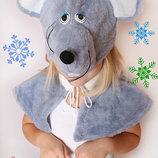 Карнавальный меховой костюм Мышка
