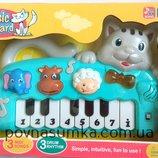 Азные Детское пианино Котик,музыкальное пианино,музыкальные игрушки