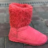 Красивые Угги Сапоги Сапожки На Маленькие Ножки Розовые И Черные