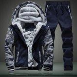 Мужской зимний спортивный костюм Cosy 3 цвета AL7614
