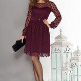 Великолепное нарядное платье на корпоратив, Новый Год, праздник, р. XS, S, M, L цвета