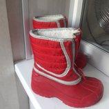Сапоги зимние,термосапоги Clarks Snow Hike Кларкс по стельке 14,5 см