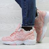 Бесплатная доставка Зимние женские кроссовки New Balance 608 pink