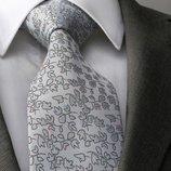 Красивый светлый галстук в наборе код GB025