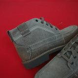 Ботинки Clarks оригинал натур кожа 42-43 размер