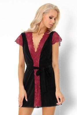 Красивый и женственный халат с мягким кружевом Kumiko Livia Corsetti