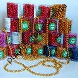 Бусы на елку,украшение для елки,новогодние игрушки,гирлянда,шарики