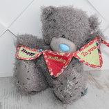 Мишка Тедди Teddy Me to you carte blanche оригинал высота 18 см