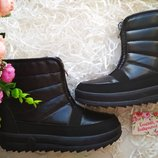 зимние ботинки сапоги дутики
