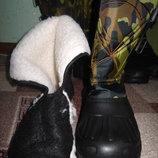 Сноубутсы сапоги мужские, с теплым вкладышем, который вытаскиевается и можно сушить