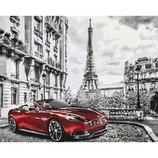Картина по номерам. Городской пейзаж Утро в париже KHO3514