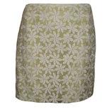 Юбка вышивка кружево шифон цветочный принт размер 52