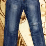 Женские джинсы от Zara . Размер24, будет на хс или девушку подростка смотрите по замерам . Джинсы