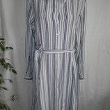 Натуральное платье - рубашка в полоску find