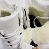 ботинки Новинка В С Тиле ,,GUCC Эко Кожа Эко Замш Искуств Плотный Мех От Подошвы 12 см. подо
