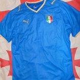 Спортивная фирменная оригинал футболка Puma Пума зб Италии .л-хл .