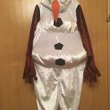 Новогодний карнавальный костюм снеговика Олаф