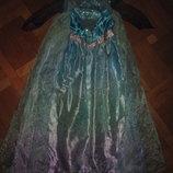 Карнавальный костюм принцессы Эльзы на 9-10лет, 135-140см Disney at George
