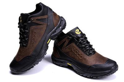 Кожаные зимние ботинки ECCO Ecco