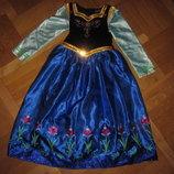 Карнавальное платье Анна, холодное сердце Frozen Disney 6-7 лет