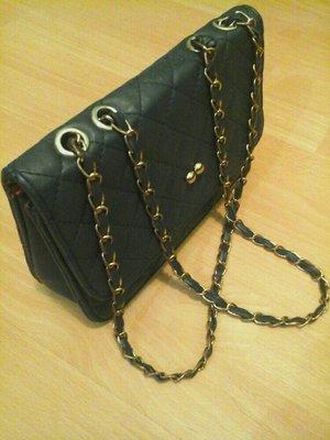 5d0f1d354ddc Cумка-клатч, аналог Chanel, темно-синяя,24×16×7: 230 грн - клатчи и ...