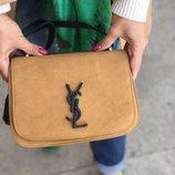 Женская кожаная сумка Yves Saint Laurent YSL